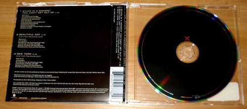 u2 stuck in a moment cd single importado 3 tracks
