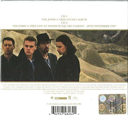 u2 - the joshua tree 30th anniversary deluxe [ 2cd ] importa