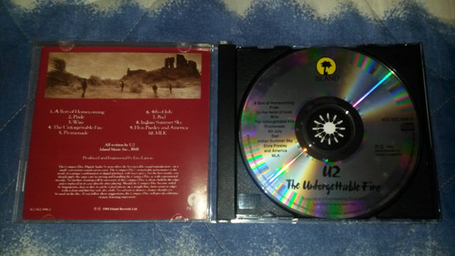 u2- the unforgettable fire