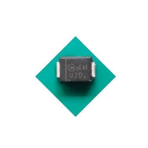 u2d ( kit c/ 10 ) diodo murs220 200v 2a mur220  murs220t3g