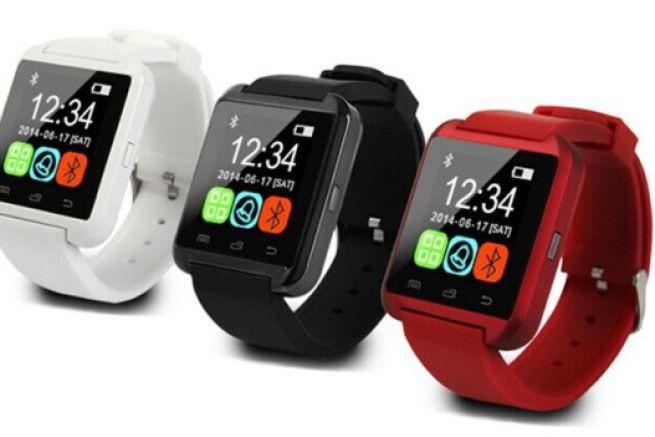 U8 Smartwatch Reloj Inteligente Bluetooth Android Ios Rojo ... 547d2ff819e
