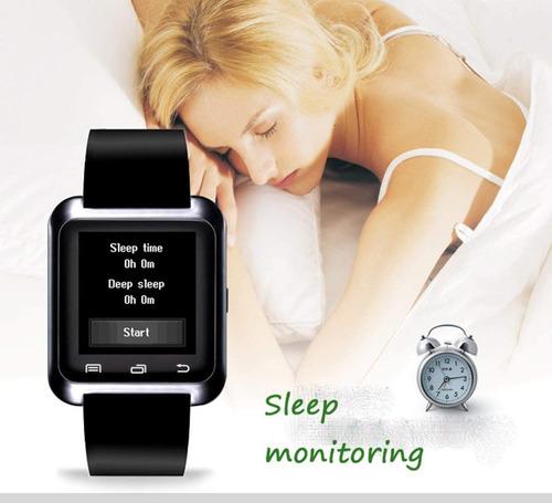 u80 bluetooth muñeca reloj inteligente teléfono compañero