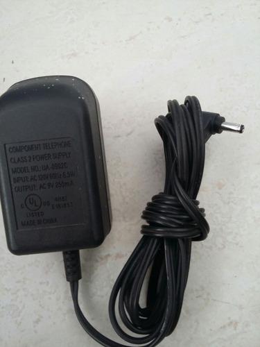 ua-0902c 9 volt adaptador ac fonte de alimentação para telef