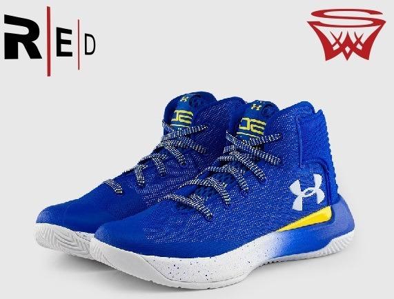 correr zapatos marca popular descuento mejor valorado Ua Curry 3 Zero Azul Original Envio Gratis Redsportsworld
