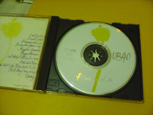 ub 40 - promises and líes - cd
