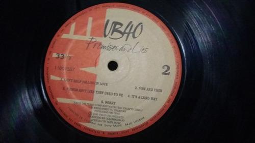 ub 40 promises and lies lp vinilo reggae
