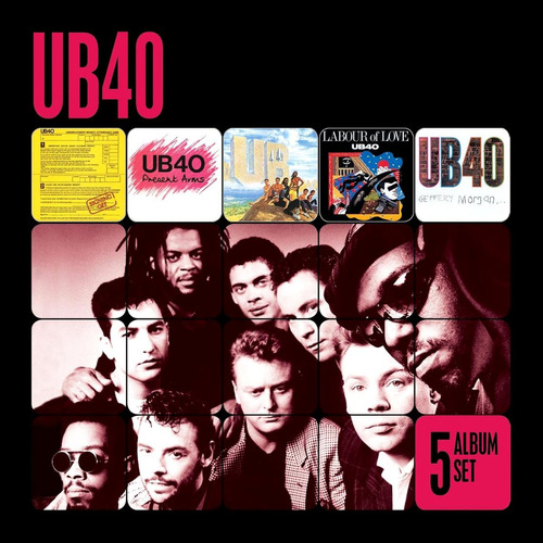 ub40 -  5 album set box set