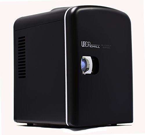 uber appliance ub-ch1 mini refrigerador de 6 latas / 4 litro