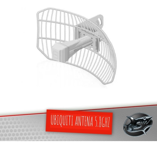 ubiquiti antena 5.8ghz airgrid m5 23dbi novo modelo c/ poe