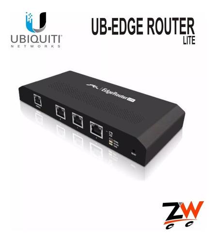 ubiquiti edge router puertos gigabit dual core 500mhz 512mb