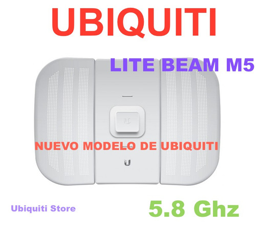 ubiquiti litebeam m5 de 23dbi 315mw airmax airgrid nano