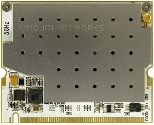 ubiquiti mini pci xr5 600mw - 5ghz mmcx  (pack 4 unidades)