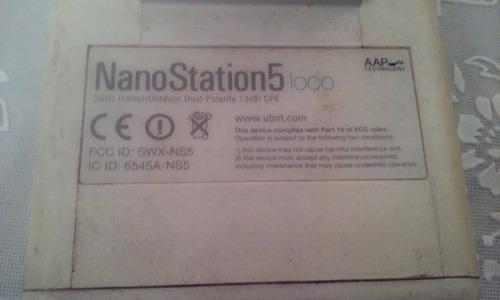 ubiquiti nanostation cpe nano loco 5 5.8ghz