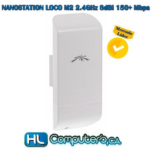 ubiquiti nanostation loco m2 2.4 ghz 8dbi