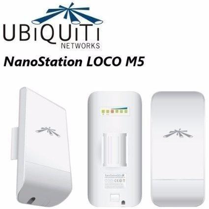 ubiquiti nanostation loco m5 5.8 ghz 13dbi c/ nf- kit 10 uni