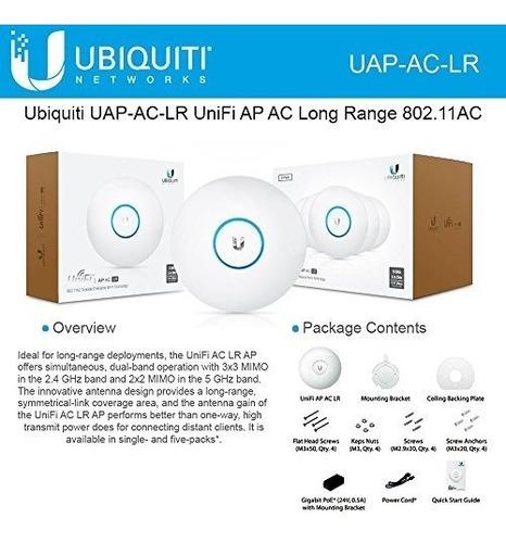ubiquiti unifi uap-ac-lr 802.11ac de largo alcance punto de