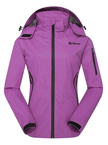 A Lluvia Deportiva Impermeable De Chaqueta Mujer Ubon Ropa qCPnRaS