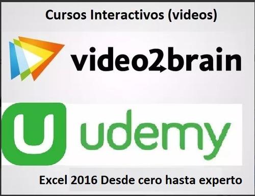 udemy - curso excel 2016 desde cero hasta experto