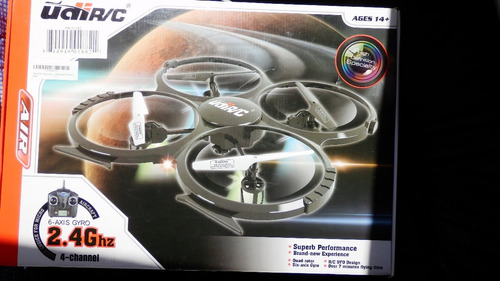 udi u818a 2.4ghz 4 ch 6 axis gyro rc quadcopter with camera