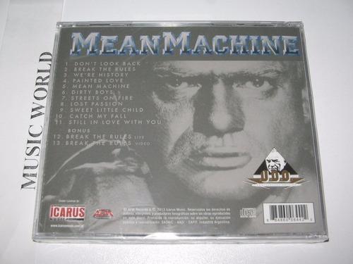 u.d.o. - mean machine cd importado