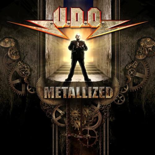 udo metallized 20 years of metal best of u.d.o. cd nuevo