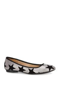 67798f6e33 Zapatos Chanel Flats Rosas Andrea - Zapatos para Niñas Plateado en ...