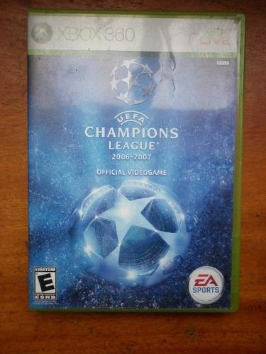 uefa champion league para x-box 360
