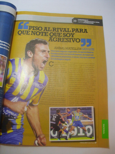 uefa champions league 2011. revista futbol total