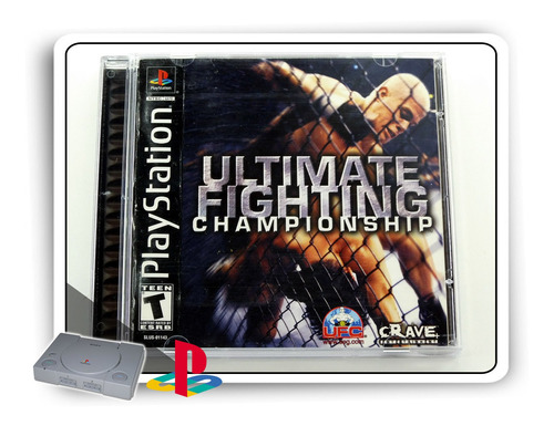 ufc ultimate fighting championship original playstation ps1