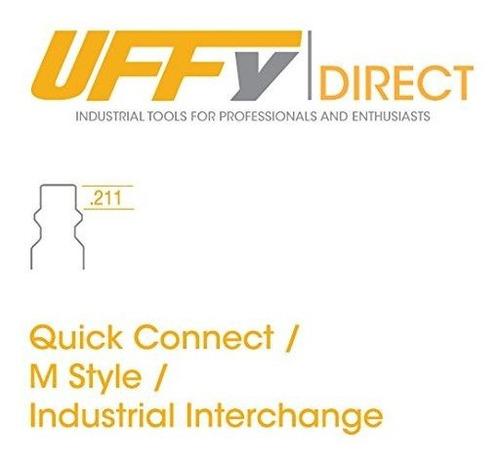 uffypelota industrial 14 npt macho de giro quick connect