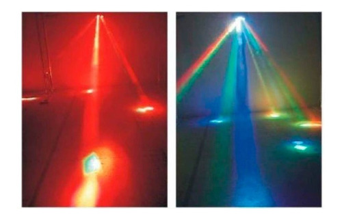 ufo tec luminacion american led efecto dmx audiorrítmico dj