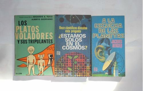ufologia libro pack x 3 v/ autores longchamps z/ sur