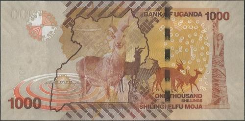 uganda 1000 shillings 2013 p49b