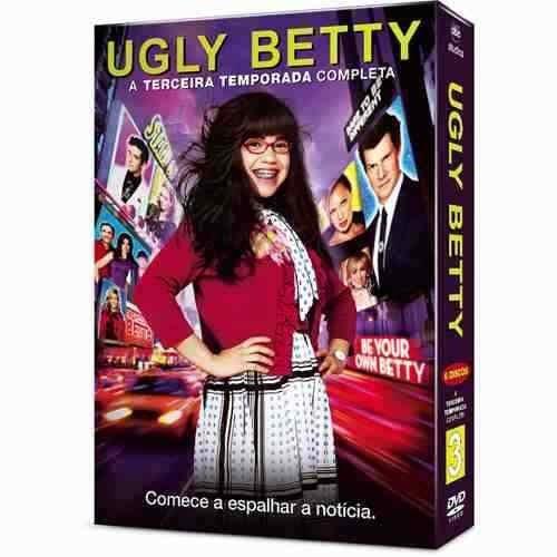 ugly betty 3ª temporada 6 dvd's oferta imperdível!