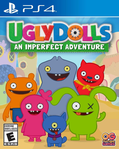 uglydolls an imperfect adventure fisico nuevo ps4 env gratis