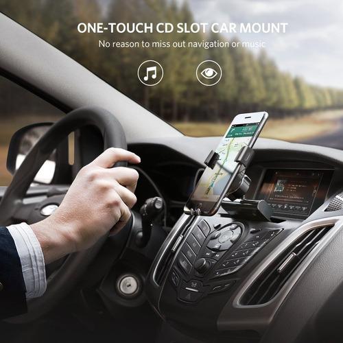 ugreen car phone mount cd slot soporte para teléfono grav.