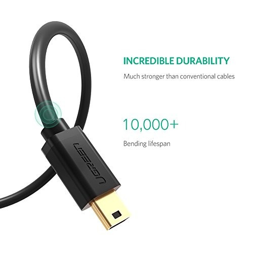 ugreen mini usb cable usb 2.0 tipo a a mini b cable cable ma