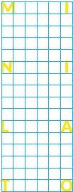 Grilla MiniLato: Vertical