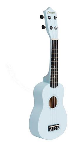 ukelele bamboo panda soprano color uquelele madera + funda