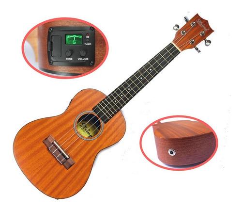 ukelele concierto electroacústico - super oferta flash!