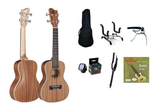 ukelele concierto gkc30+accesorios  (envio gratis)
