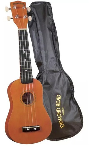 ukelele diamond head + estuche