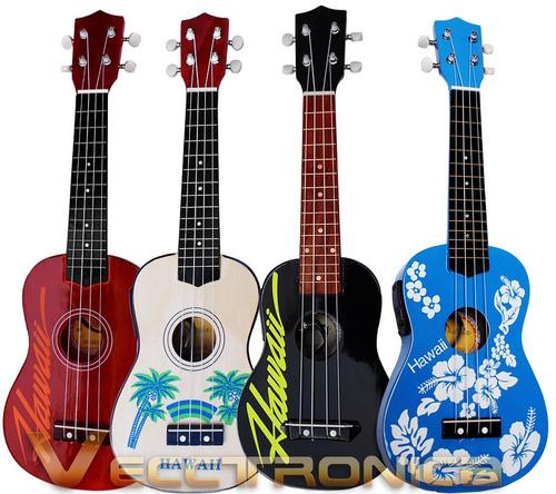 ukelele electro acustico en diferentes diseños a elegir wow.