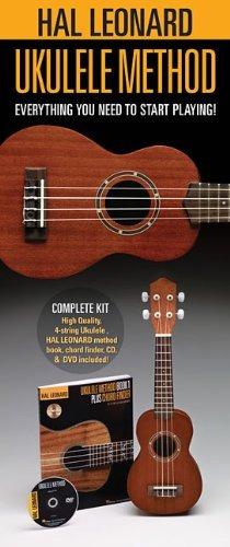 ukelele hal leonard 650804 starter pack with ukulele,