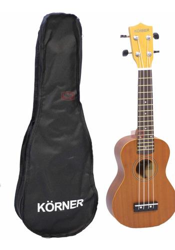 ukelele korner sapele soprano excelente sonido + funda