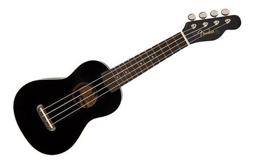 ukelele profesional fender - soprano concert estuche ukulele