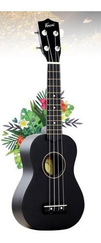 ukelele soprano 21 kauai negro incluye funda- envio gratis