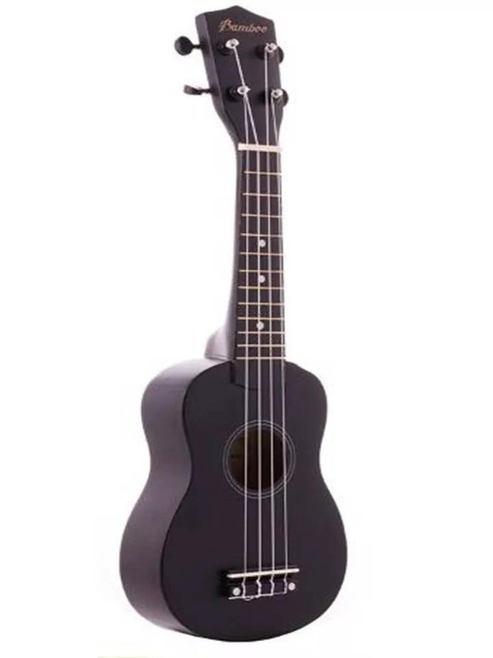 Ukelele Soprano Bamboo Sin Funda Linea Color Negro - $ 1.498,00 en ...