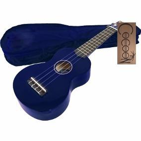 ukelele soprano cocoon kubw azul + afinador !!!