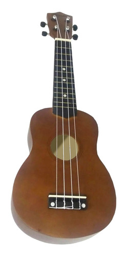 ukelele soprano color marron